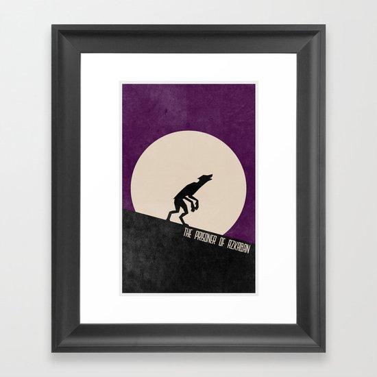 The Prisoner of Azkaban (The Boy Who Lived 3 of 8) Framed Art Print