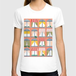 Peach Building T-shirt