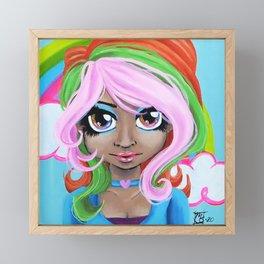 Rainbow Fairy Framed Mini Art Print