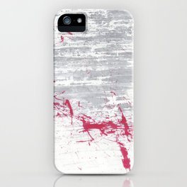 don't want to speak iPhone Case
