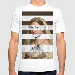 Raphael's Woman with a Veil & Hedy Lamarr T-shirt