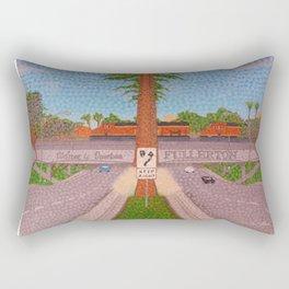 Downtown Fullerton Rectangular Pillow