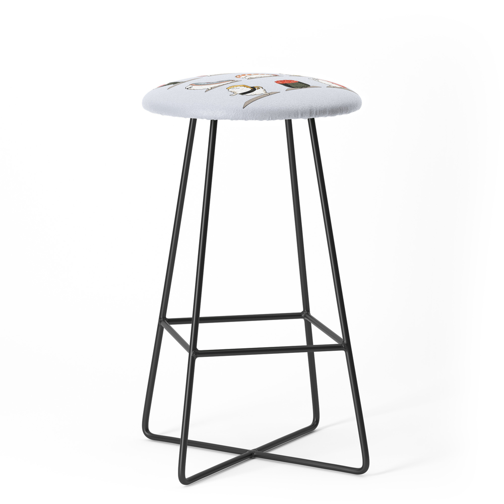 Sushi Yoga Bar Stool by huebucket