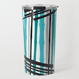 Jib Street Abstract Bamboo Travel Mug