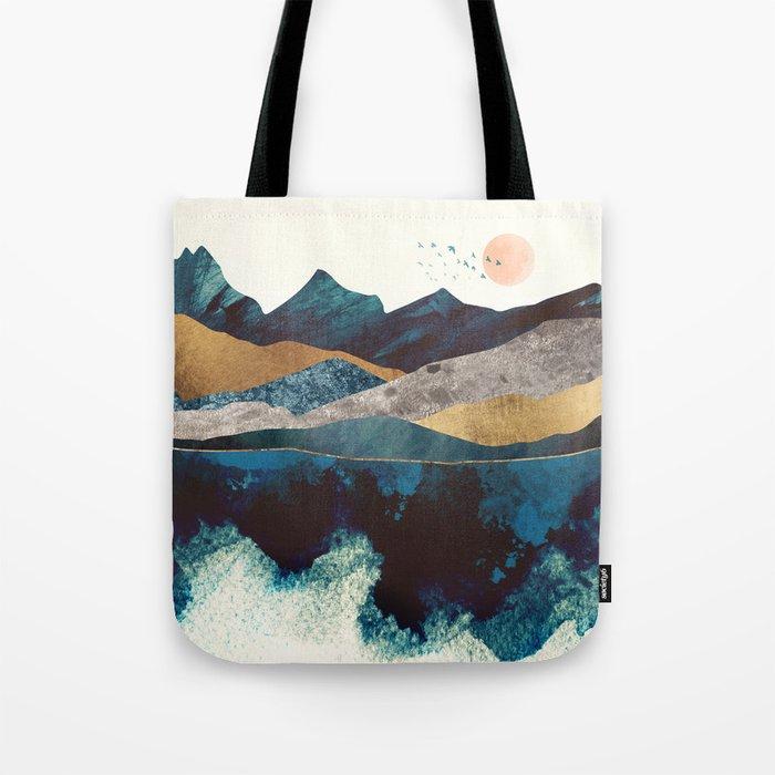 Blue Mountain Reflection Tote Bag