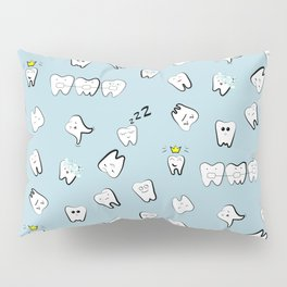 Teeth pattern Pillow Sham