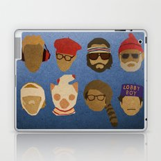 Wes Anderson Hats Laptop & iPad Skin