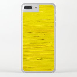 Sun. Oil painting Clear iPhone Case