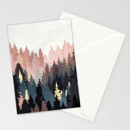 Spring Forest Light Stationery Cards