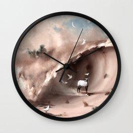The End will be Fun - Julien Tabet - Photoshop Artork Wall Clock
