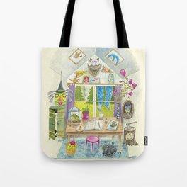 Folktale Writer's Nook Tote Bag