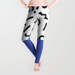 Memphis pattern 44 Leggings
