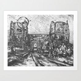Ludendorf Bridge 1945 Art Print