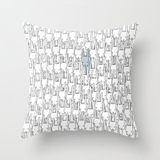Outstanding Rabbit Throw Pillow