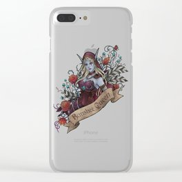 Queen of the Forsaken Clear iPhone Case