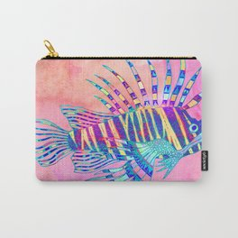 Electric Lionfish Carry-All Pouch