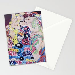 The Virgin by Gustav Klimt Stationery Cards