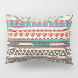 Fair-Hyle Knit Pillow Sham