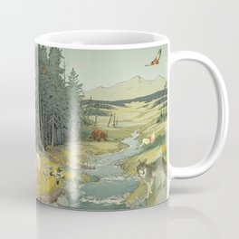 National Parks: Yellowstone Coffee Mug