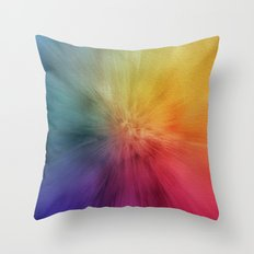 Colourburst Throw Pillow