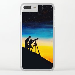 Stargazers Clear iPhone Case