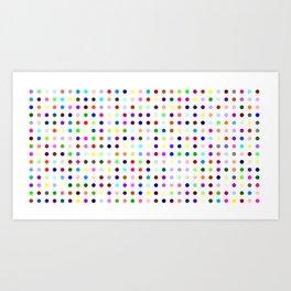 Big Hirst Polka Dot Art Print