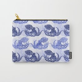 Mythic Octopus - Indigo Carry-All Pouch