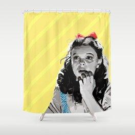 Follow! Shower Curtain