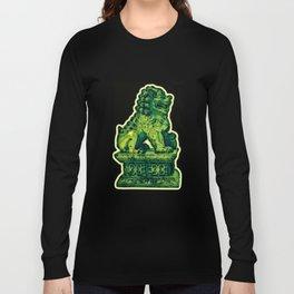 Jade Lion Long Sleeve T-shirt