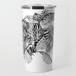 Fern Floor :: Single Line Travel Mug