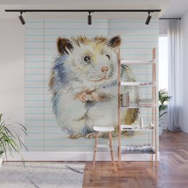 The small hamster Wall Mural