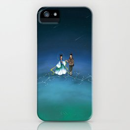 The Legend of the Milky Way iPhone Case