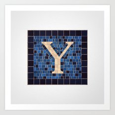The Letter Y Art Print