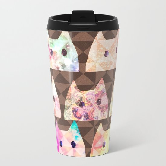 cat-90 Metal Travel Mug