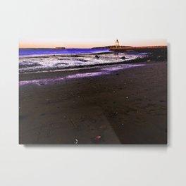 #MAINE Sunset at Spring Point Ledge Lighthouse Metal Print