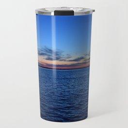 Sunset in Dunedin Florida Travel Mug
