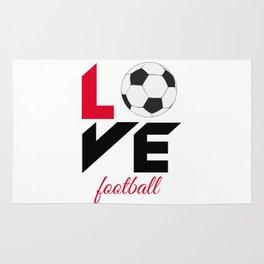 Love football Rug