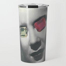 Psychedelic glasses II Travel Mug