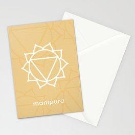 Manipura Solar Plexus Chakra Stationery Cards