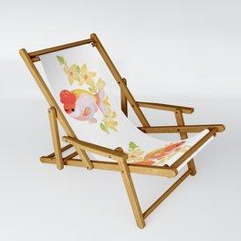 Ranchu and Forsythias Sling Chair