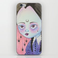 Wednesday's child is full of woe iPhone Skin