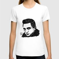 johnny cash T-shirts featuring Johnny Cash by Feral Doe