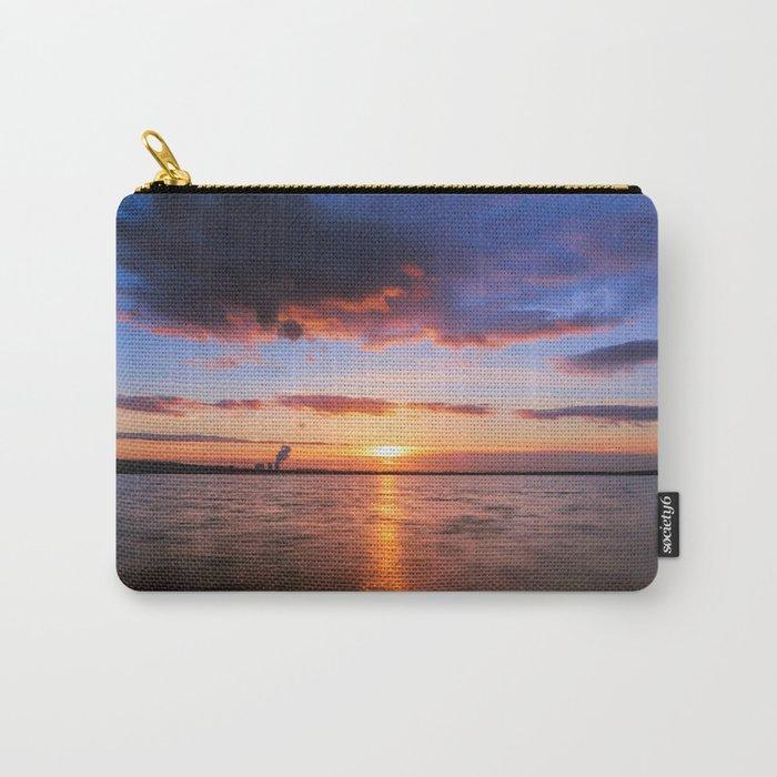 Beautiful Sundown II - #Society6 Carry-All Pouch