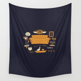 Friends - Central Perk Wall Tapestry