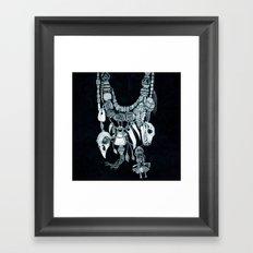 Voodoo Amulets Framed Art Print