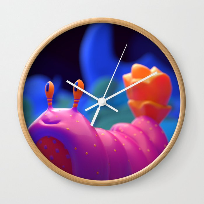 Evening Stroll Wall Clock