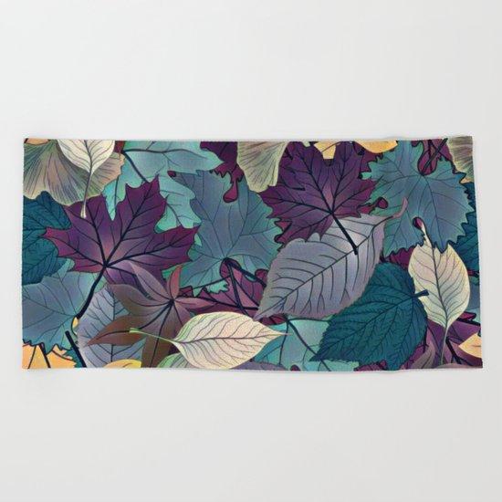 Leafy Goodness Beach Towel