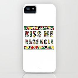 Guyana | Kiss Me Rasshole iPhone Case
