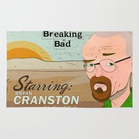 breaking bad Area & Throw Rugs featuring Breaking Bad by Design Grinder