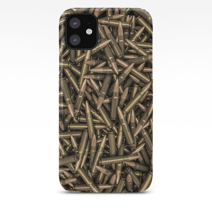 Rifle bullets iPhone Case